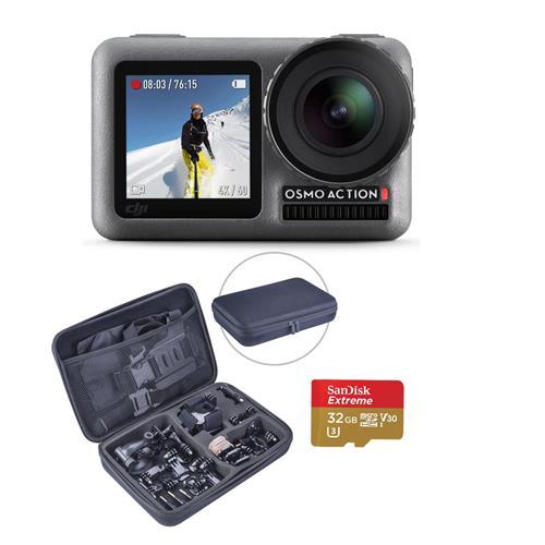 DJI Osmo 4K HDR Action Camera Bundle w/ Froggi Extreme Accessory Kit & 32GB MicroSD $271.15 AC + Free S/H & More
