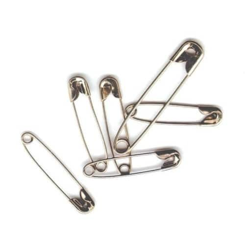 50-Count School Smart Nickel Plated Steel Safety Pins (Assorted) $1.01 + Free Prime Shipping