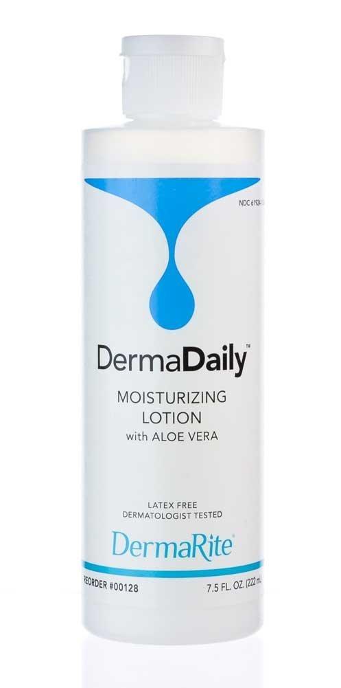 7.5oz Dermarite Industries Dermadaily Lotion w/ Aloe Vera $1.39 w/ S&S or Prime Shipping