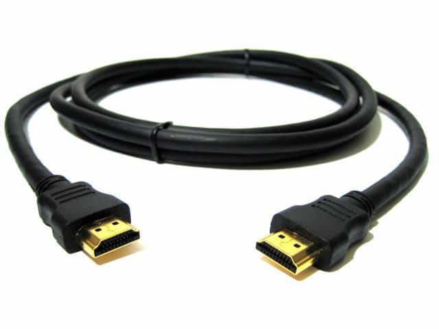 6' High Speed HDMI Cable w/ Ethernet & 4K Support $0.50 + Free S&H