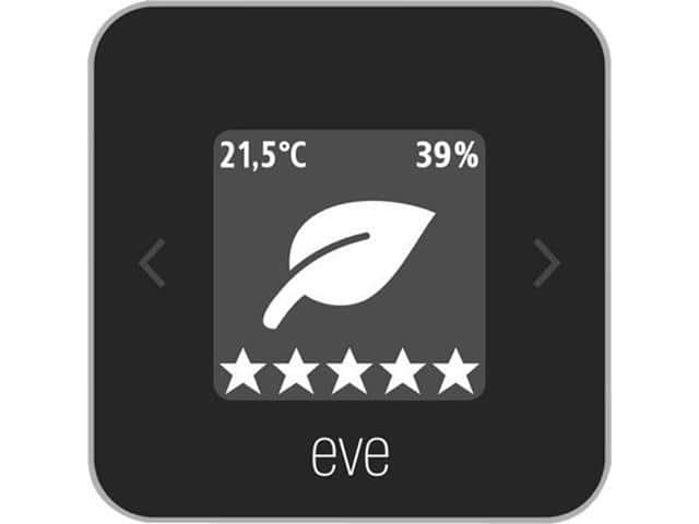 Eve Systems: Eve Room Indoor Air Quality Monitor for Apple HomeKit $79.95 + Free Shipping