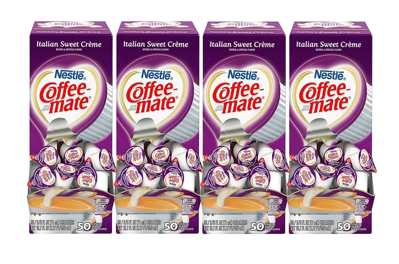 200-Pack of 0 375oz Coffee-Mate Coffee Creamer Cups (Italian Sweet Creme)