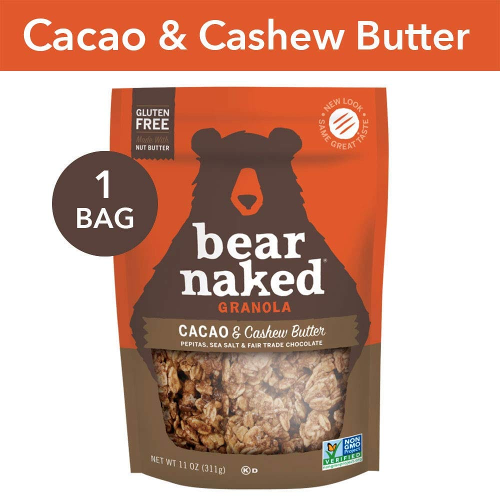 Select Bear Naked Granola B1G1 50% Off: 11oz Cacao & Cashew Butter Granola 2 for $5.30 w/ S&S + Free S&H