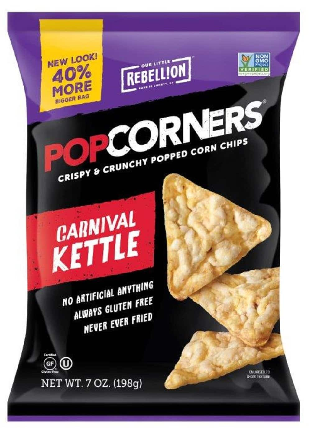 7oz PopCorners Popped Corn Chips (Carnival Kettle or Cinema Style Butter) $2.04 + Free Prime Shipping