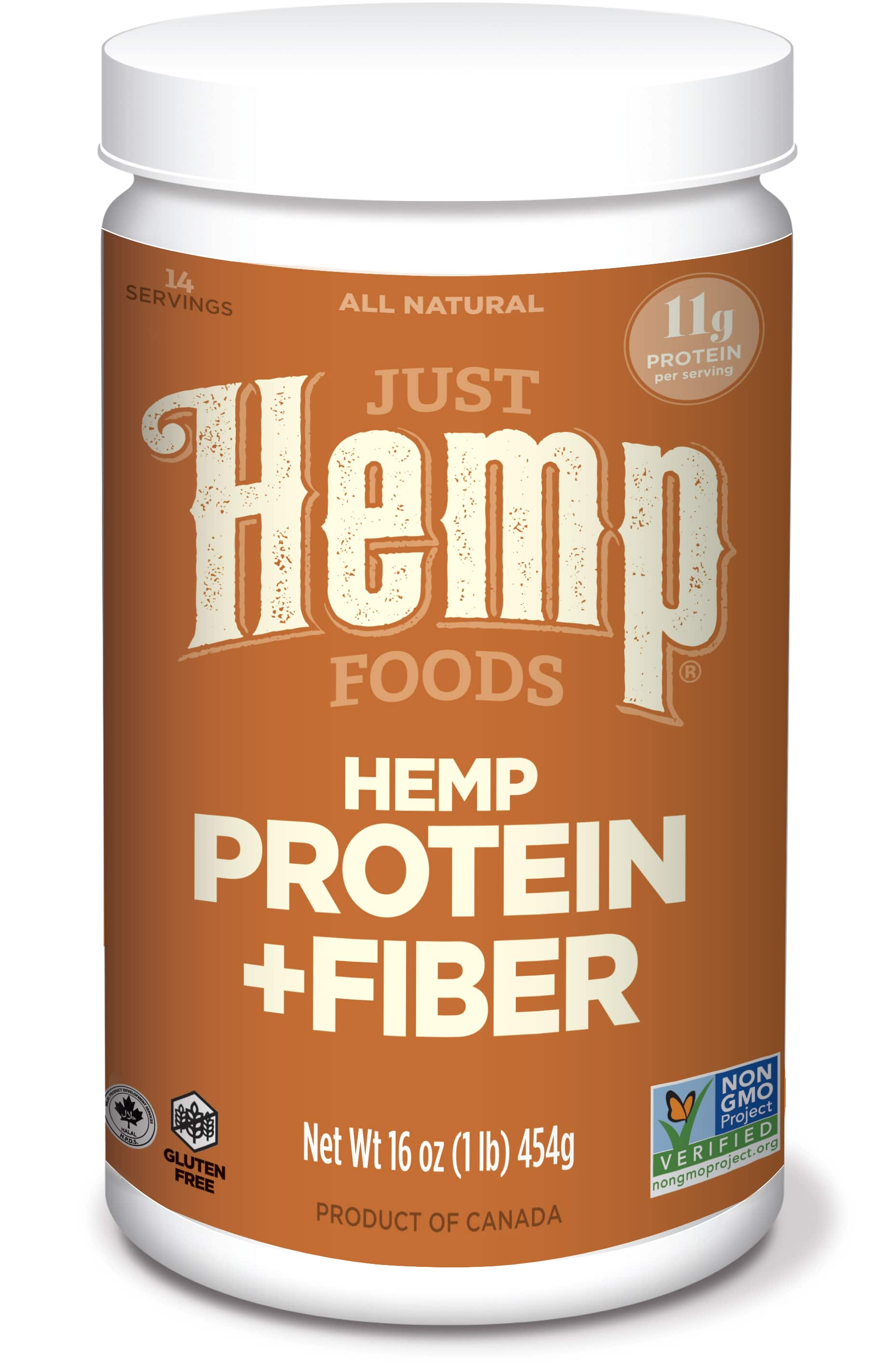 16-Ounce Just Hemp Foods Hemp Protein Powder Plus Fiber $2.98 w/ S&S