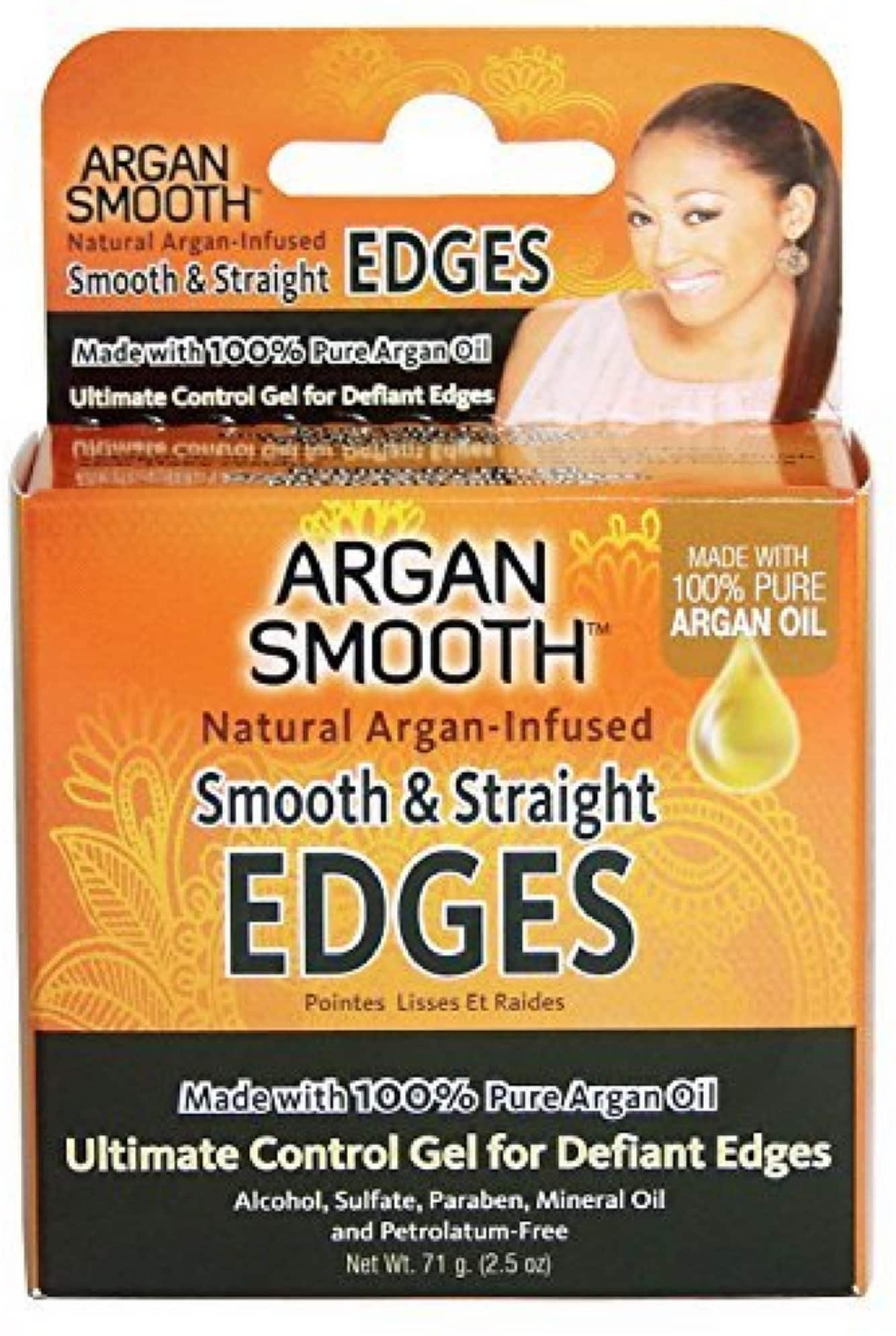 2.5-Ounce Argan Smooth Hair Control Smooth & Straight Edges Gel $1.25 + Free Prime Shipping