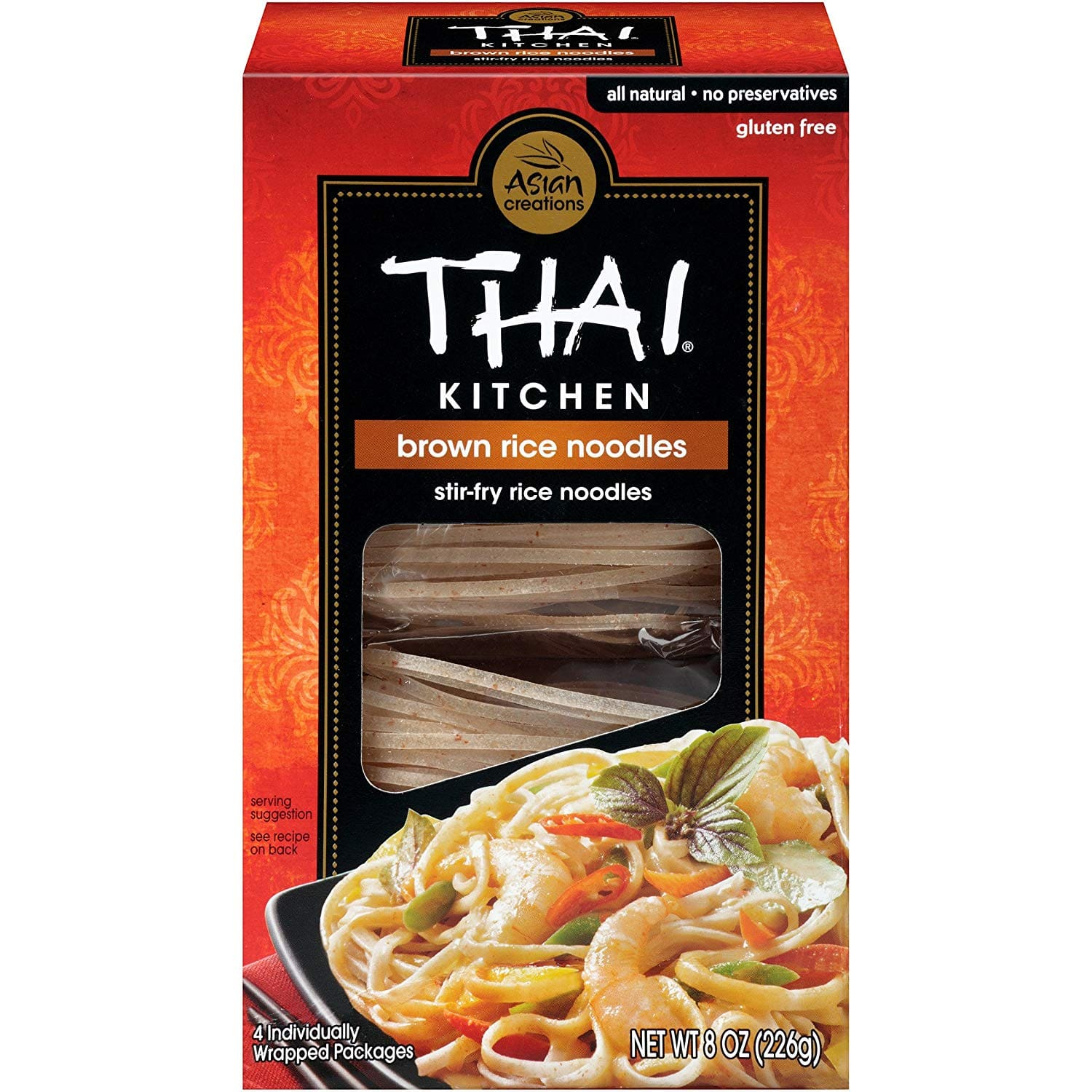 6-Pack 8-Ounce Thai Kitchen Gluten Free Brown Rice Noodles $1.93 w/ S&S