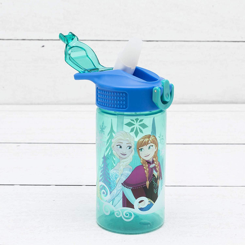 16-Ounce Zak Designs Water Bottle w/ Flip-Top Straw (Disney Frozen) $3 + Free Prime Shipping