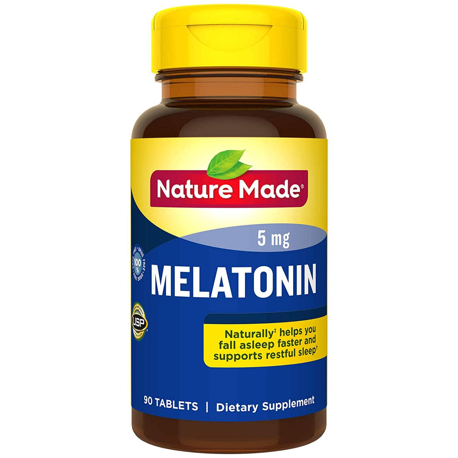 (YMMV) Nature Made Melatonin: 60-Count 3mg + 200mg L-theanine $2.75  90-Count 5mg $2.55 AC w/ S&S