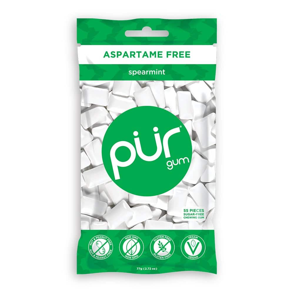 Amazon Warehouse: 55-Count PUR 100% Xylitol Chewing Gum (Spearmint) $1.63 + Free Prime Shipping & More