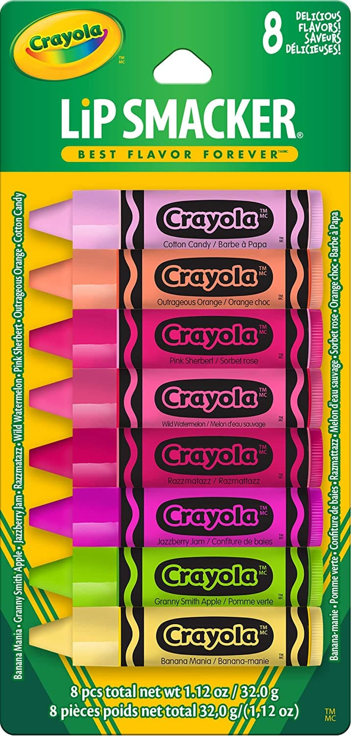 8-Count Lip Smacker Crayola Lip Balm Party Pack $5.62 w/ S&S
