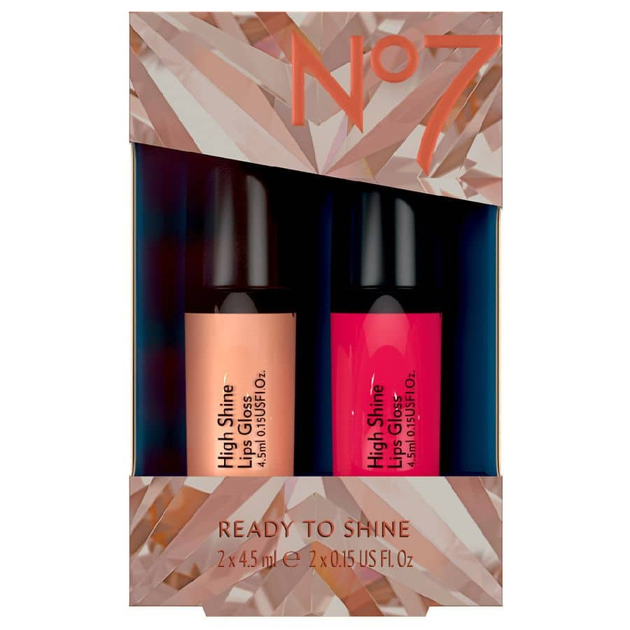 2-Piece No7 Ready to Shine Lip Duo Lip Gloss Gift Set $3.20 + Free Shipping