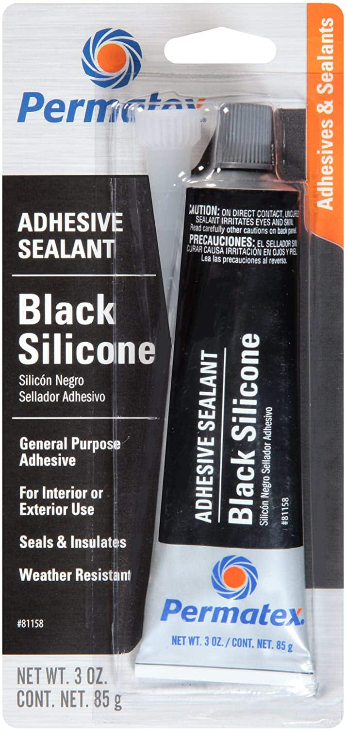 3-Ounce Permatex 81158 Black Silicone Adhesive Sealant $2.47 w/ Subscribe & Save