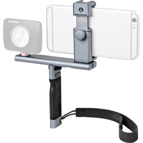 Manfrotto TwistGrip Universal Smartphone Clamp w/ Tripod & Grip $49.99 + Free SHipping