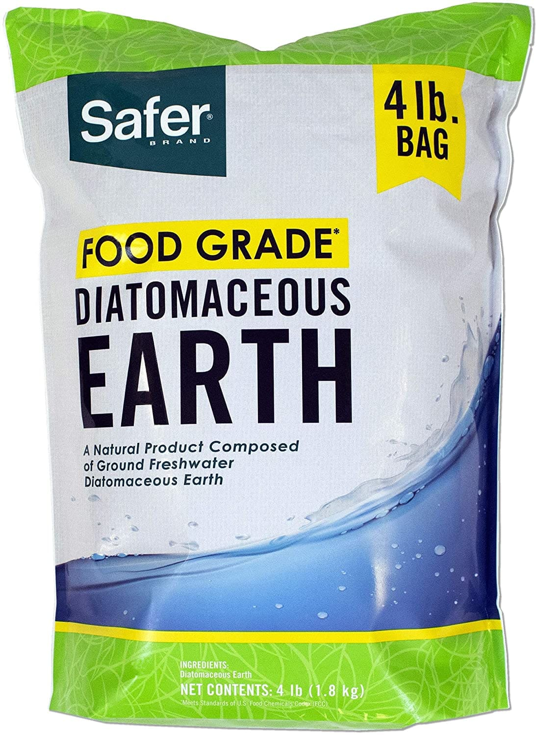 4 lbs Safer Brand Food Grade Diatomaceous Earth $5.92 + Free Prime Shipping (may not ship to some states)