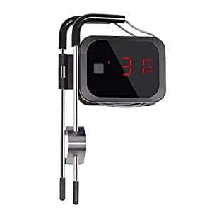 BBQ Meat Thermometer Smoker Grilling Oven Bluetooth Wireless Inkbird Digital IBT-2X with 2 Stainless Probe for Food Cooking Barbecue 1 or 2 Probes $17.99 to $20.99