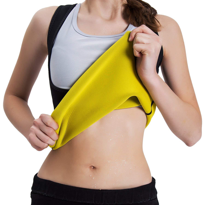 Roseate Women's Body Shaper Hot Sweat Workout Tank $9.99