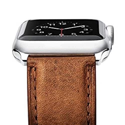 [Upgraded] Apple Watch Band, Benuo [Vintage Series] Premium Genuine Leather Strap - $8.50 AC + Free Shipping