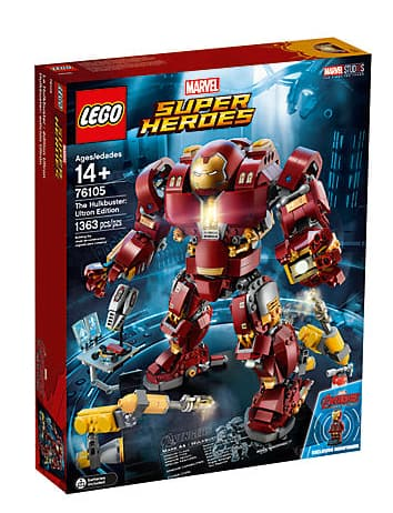 Lego The Hulkbuster: Ultron Edition + Lots of Freebies $119.99