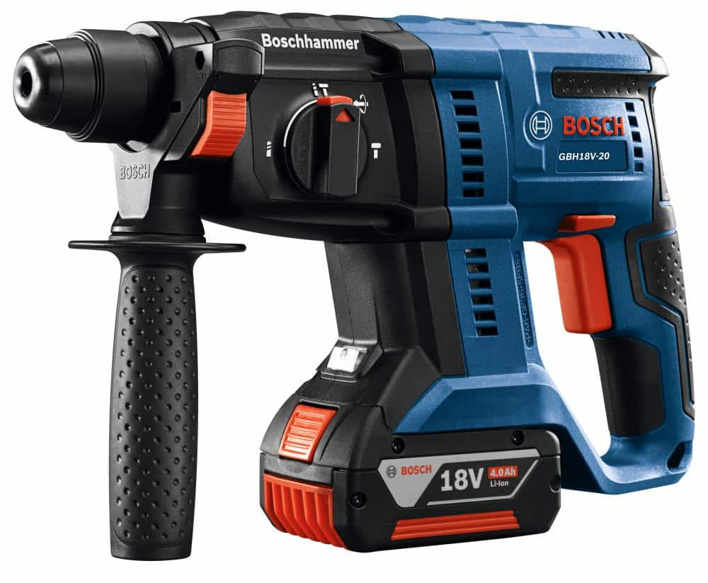 Bosch Bulldog Core18v-Amp 3/4-inSDS-Plus Variable Speed Cordless Rotary Hammer Drill with a free Core18v 4 Amp-Hour Lithium Power Tool Battery Kit for $103.17 B&M YMMV at Lowes