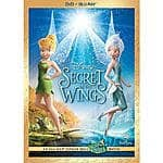 TRUS Tinker Bell: Secret Of The Wings 2-Disc Set BLU-RAY DVD $5.99 free shipping with $19