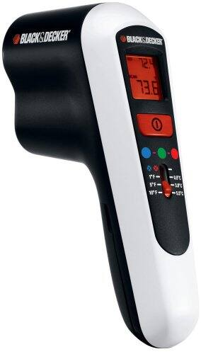 Black and Decker Thermal Leak Detector TLD100 $7.25 Lowes Clearance Very YMMV