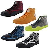 eBay Deal: $26.99 Vision Street Wear Mens Canvas Hi Fashion Skate Shoes + FS