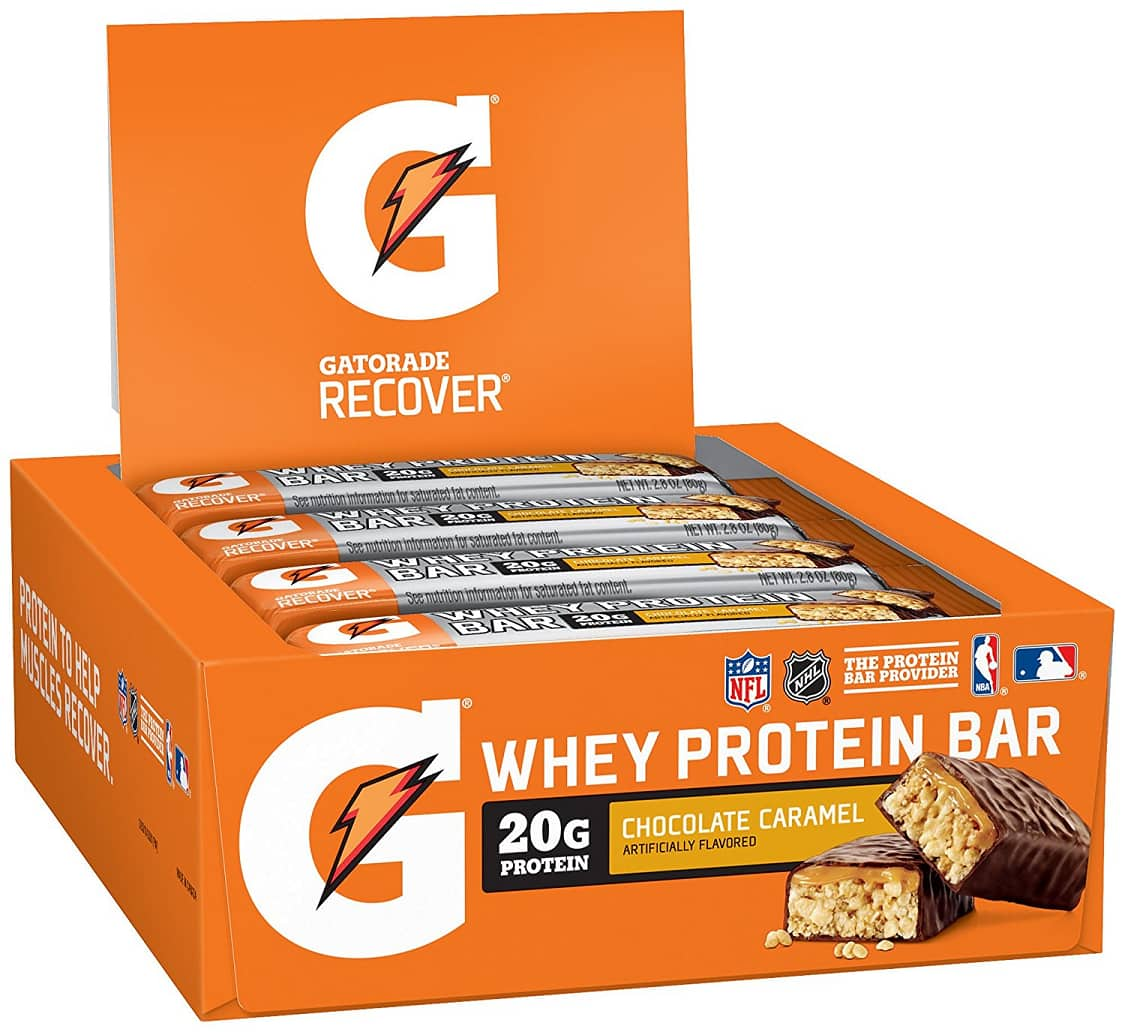 Gatorade Recover Whey Protein Bar on sale at Amazon S&S for $11.81
