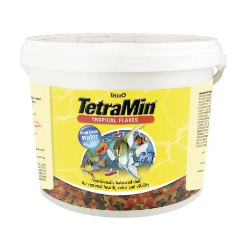TetraMin Tropical Flake Fish Food, 4.52 lbs, for $31.59 at Amazon