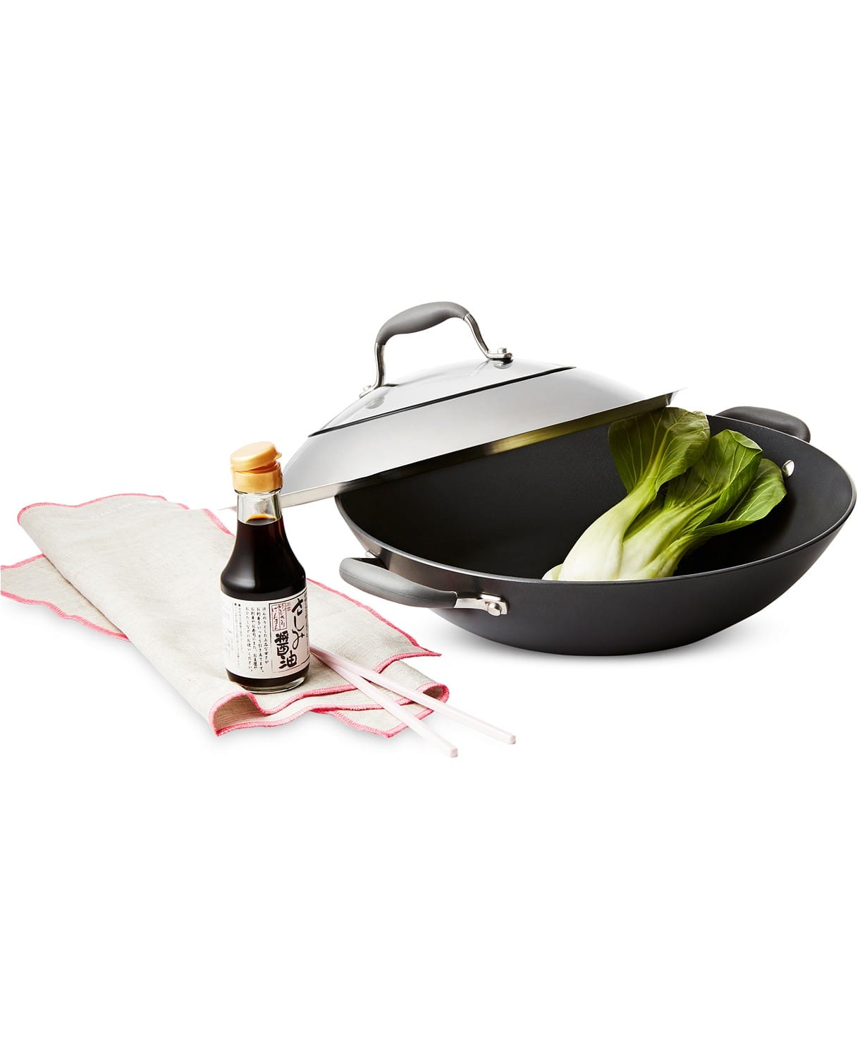 "Anolon Advanced Nonstick 14"" Covered Wok $29.99"