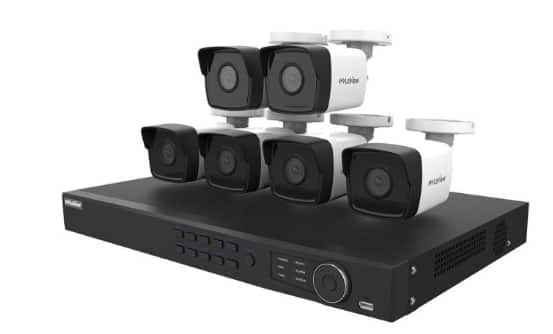 LaView NVR PoE 8 Channel 6 Cameras Security Surveillance System @$429, two 4MP and four 2MP cameras  + Free Shipping
