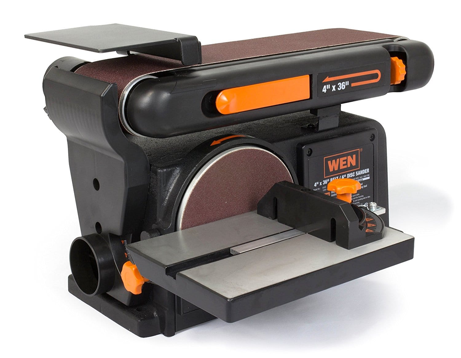 WEN 6502 4 x 36-Inch Belt and 6-Inch Disc Sander with Cast Iron Base - $72.73 With Coupon
