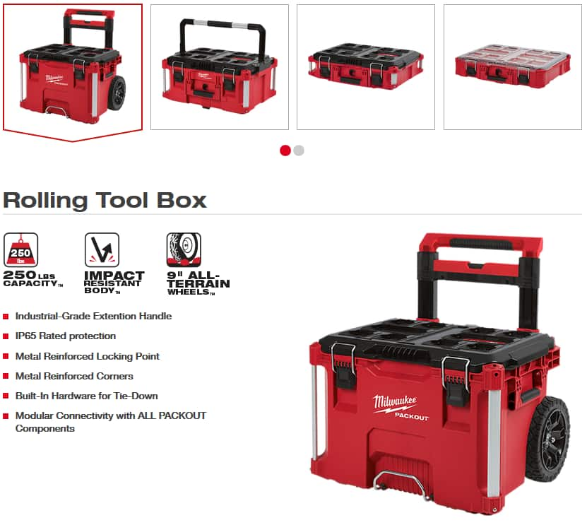Milwaukee PACKOUT Toolboxes On Sale at Acmetools.com $49.99