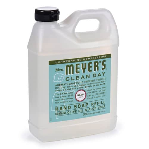 Mrs. Meyers Liquid Hand Soap Refill, Basil Scent, 33 Oz. [Basil] $7.13 w/ SS or $7.50 single purchase