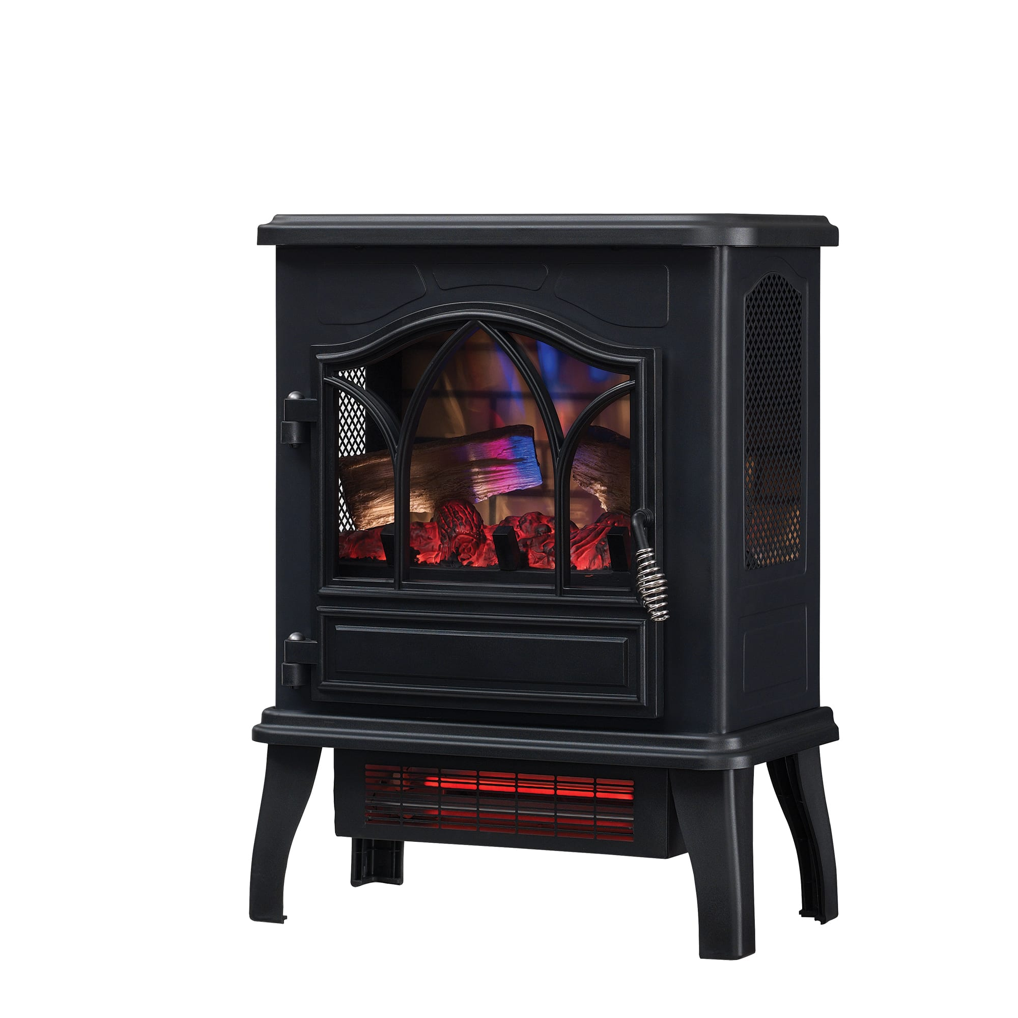 Electric Stove Heaters On Sale ~ Chimneyfree btu electric infrared quartz stove