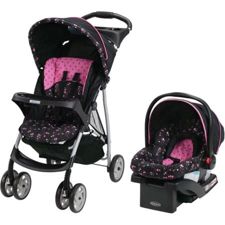 Graco Literider Travel System Snugride Infant Car Seat Priscilla