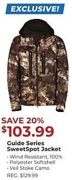 2a803227c Gander Outdoors Black Friday  Guide Series SweetSpot Jacket for  103.99