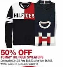 Macys Black Friday Tommy Hilfiger Sweaters Select Styles 50