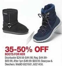 1456ba9895f71 Macy's Black Friday: Boots For Her from Bearpaw or Sketchers, Select Styles  - 35-50%