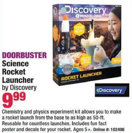 Boscov s Black Friday  Discovery Science Rocket Launcher for  9.99 ... c468ce30e