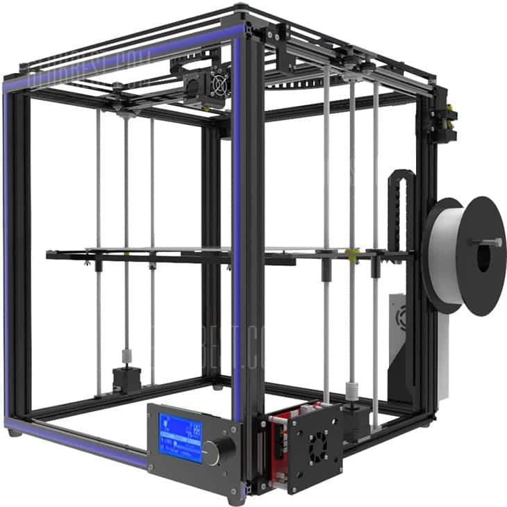 Tronxy X5S Large Format 3D Printer - $289.99 with free shipping - US Warehouse