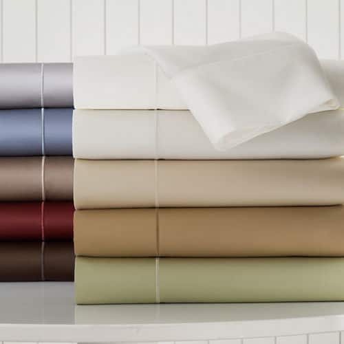 Royal Velvet 400 Thread Count Wrinkle Guard Sheet Sets ($45.50 - 70.00)