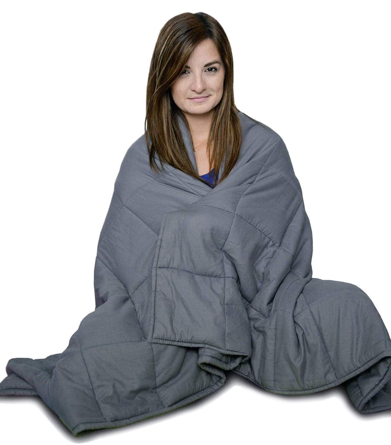 36643afb2babf Cuddlebug Weighted Blanket (via Amazon Giveaways) - 15 lbs 48