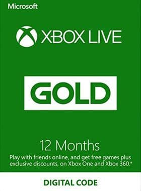 12 Month Xbox Live Gold Membership (VPN Activation via