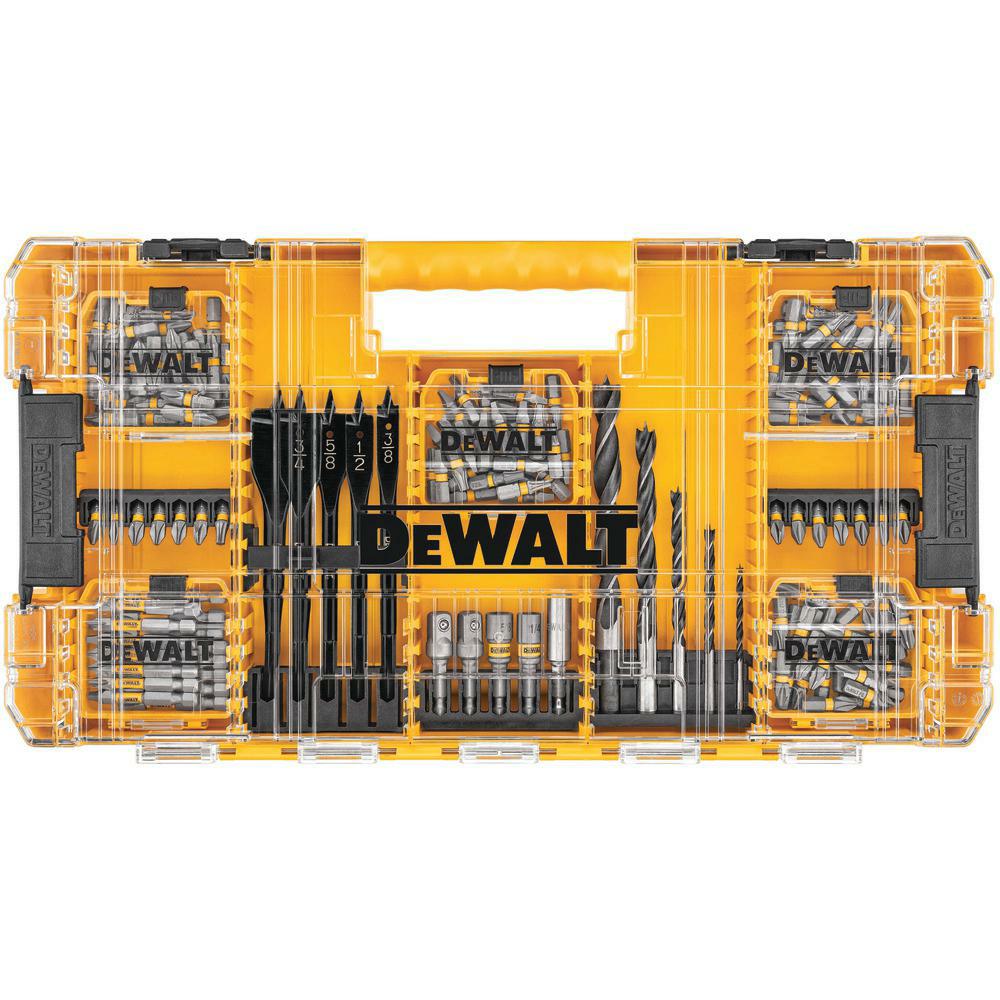 $29.99 ships free, 160 piece DEWALT MAXFIT Steel Drill and Driving Bit Set DWAMF160 $29.99
