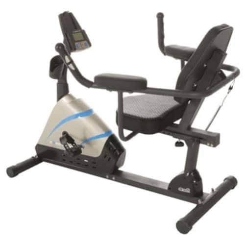 $99 FPS Exerpeutic 1000 High Capacity Magnetic Recumbent Bike W/ Pulse Wider Seat Extended