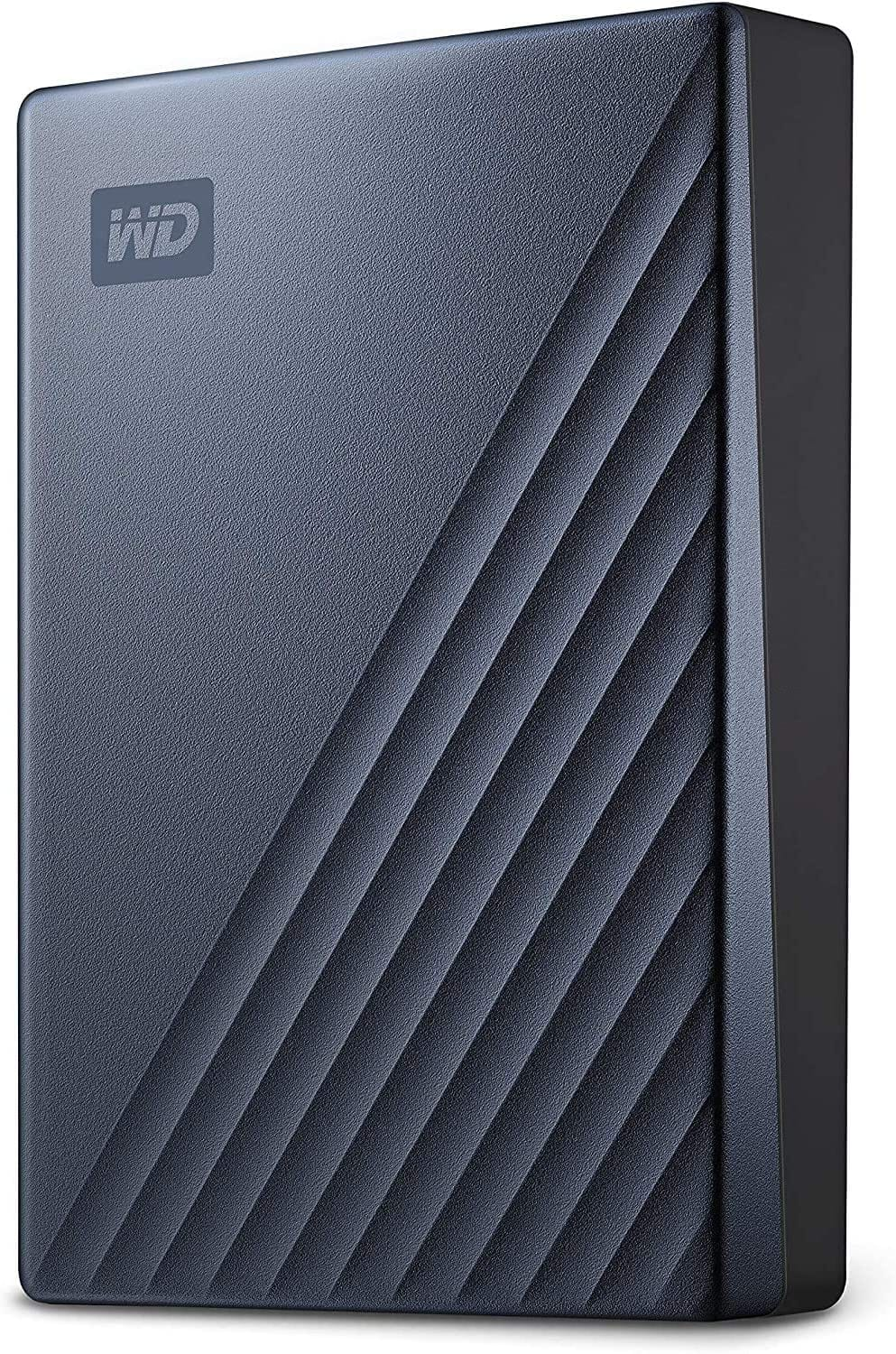 Prime Members: WD 5TB My Passport Ultra Blue Portable External Hard Drive HDD, USB-C and USB 3.1 Compatible $99.99 Free Shipping