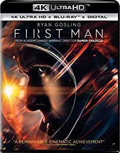 First Man (4K Ultra HD + Blu-ray + Digital HD) $7.95 FSSS or FS with prime at Amazon
