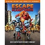 Escape From Planet Earth (3D Blu-ray + Blu-ray + DVD + Digital Copy + UltraViolet) $7.50 FS with prime