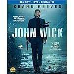 John Wick [Blu-ray], Taken 3 [Blu-ray] $13 each at amazon, bestbuy and target